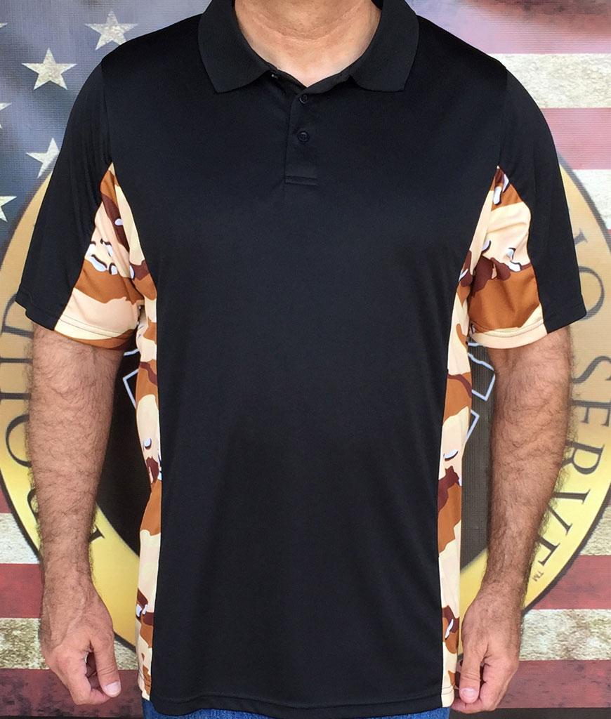 Desert Storm Camo Polo Shirt