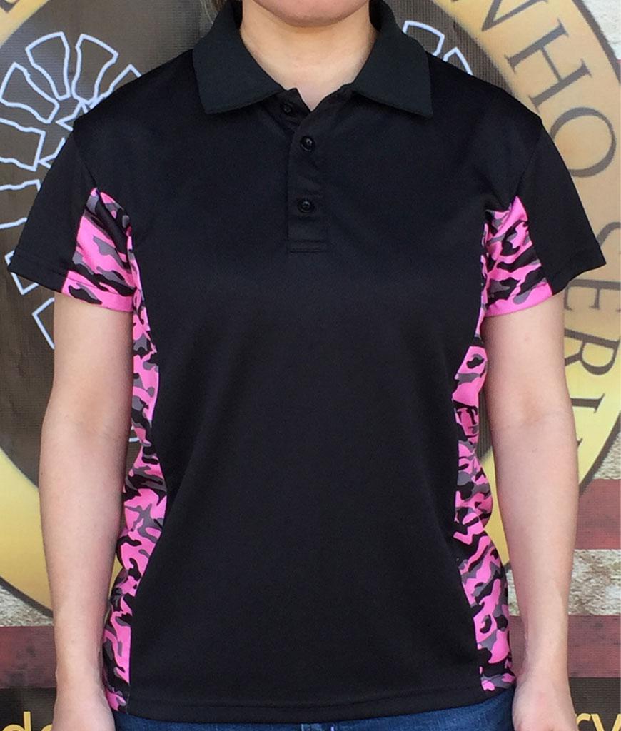 Pink Hunter Polo shirt
