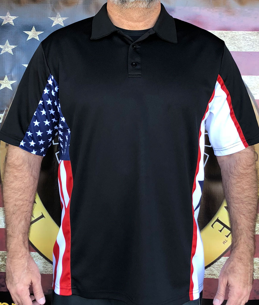 Blue Start Patriot Polo Shirt