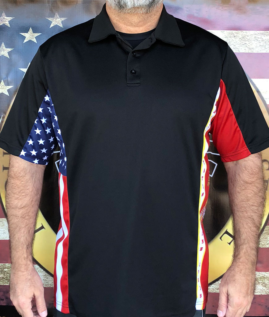 Marine Patriot Polo Shirt