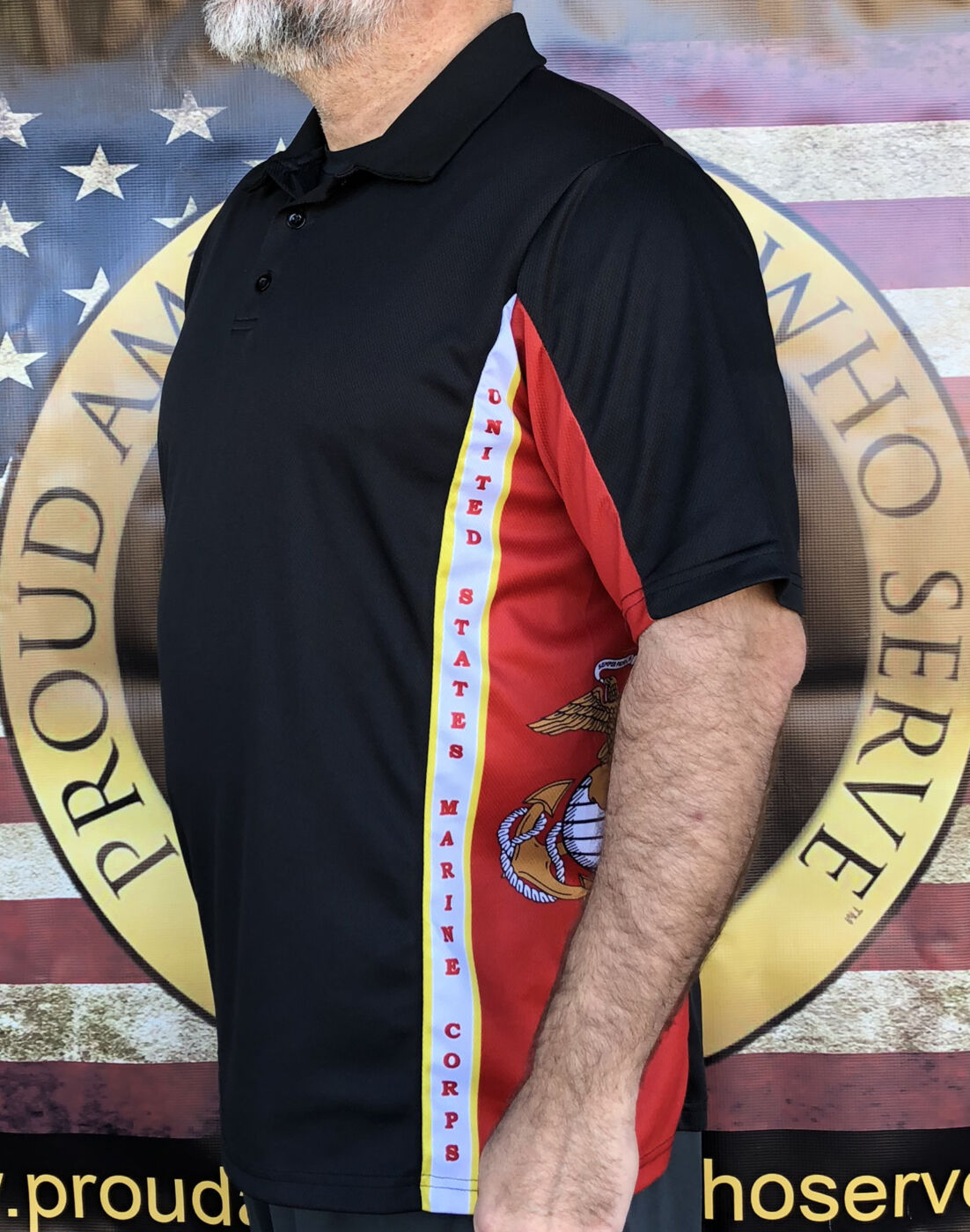 US Marines Polo Shirt