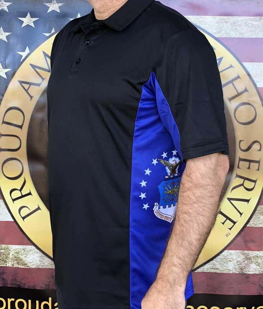Air Force Texan Polo Shirts,