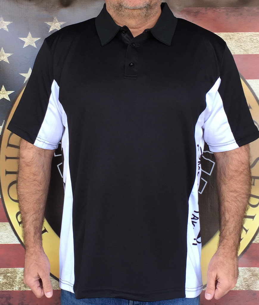American Revolution Polo Shirt, Read the story of Gonzalez