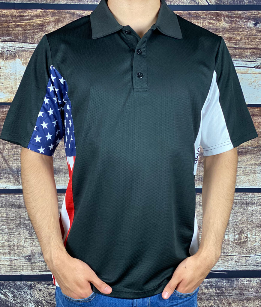 The Defiant Patriot Patriotic Polo Shirt