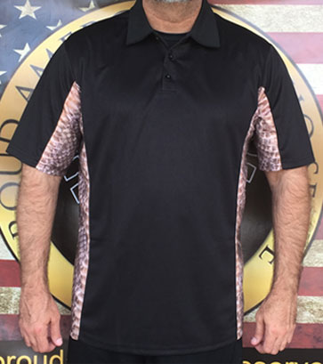 Patriotic polo shirts from Desert Storm to Vietnam