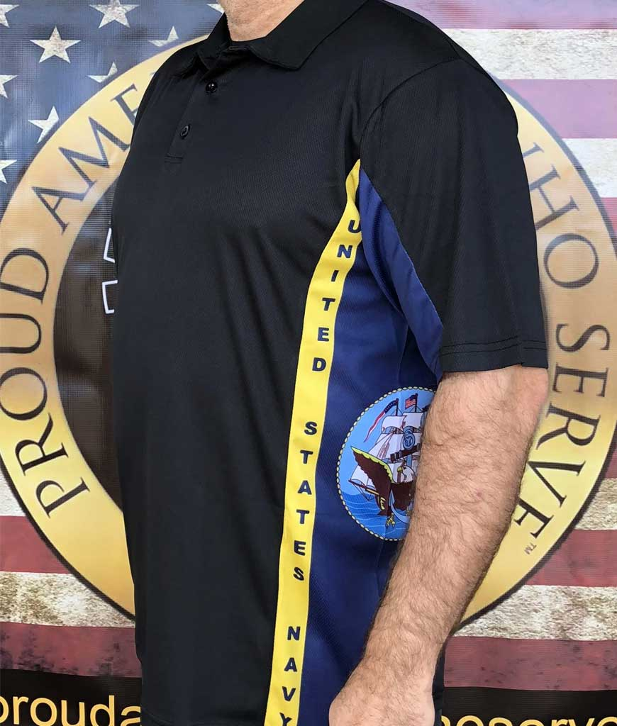 Navy Texan Polo Shirt