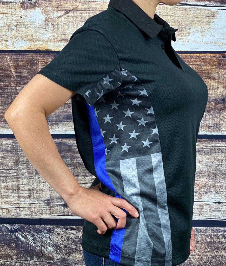 police polo shirt women