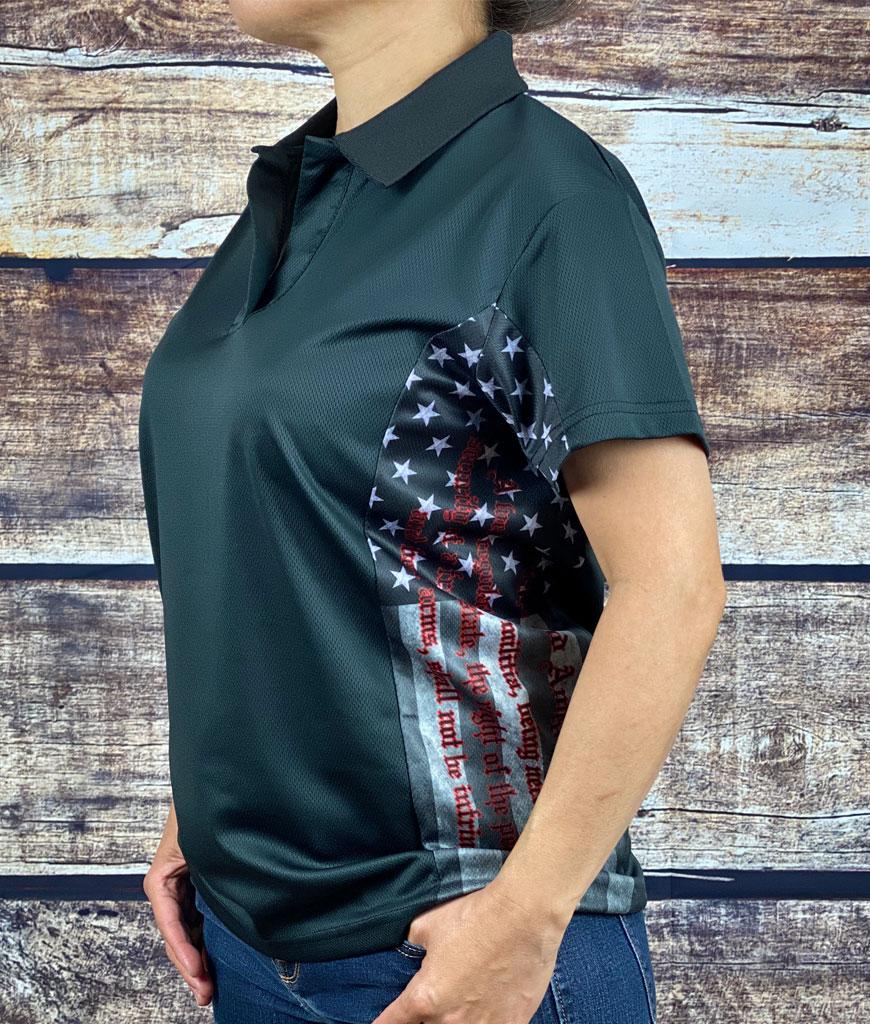 Women's 2nd Amendment Polo Shirt